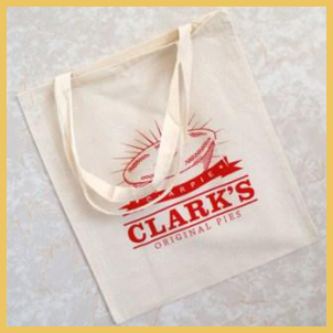 Clark's Pie Shopping Bag.  3.40 inc. P&P. Currently Out of Stock.
